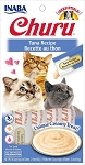 Inaba Churu Tuna Lickable Cat Treat, 0.5oz tube pack of 4